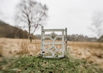 Abandoned gate at Vrångsholmen