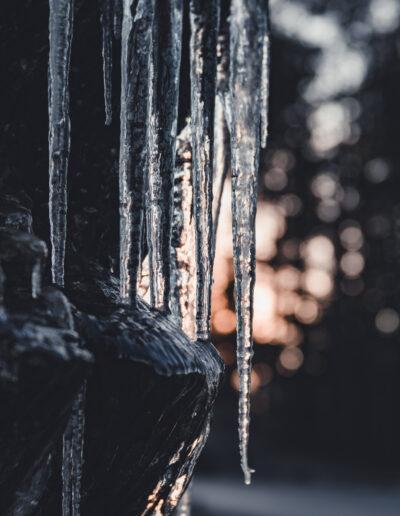 Frost og kulde i Froland